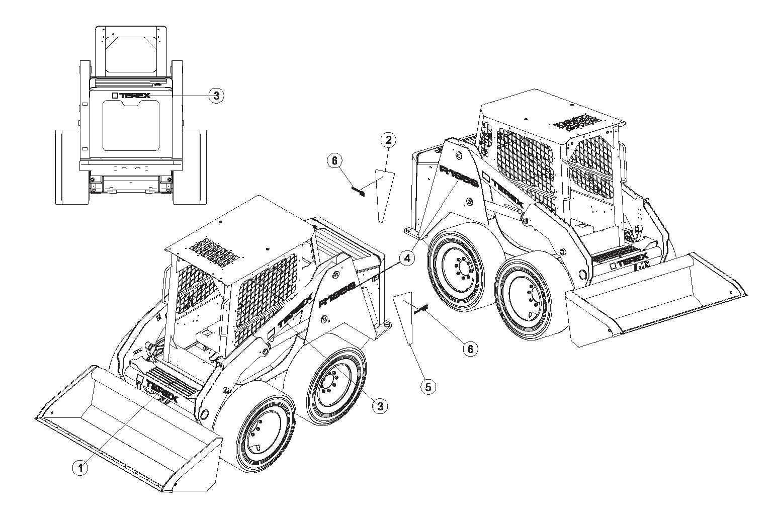Diagram 9-5A Terex Graphics