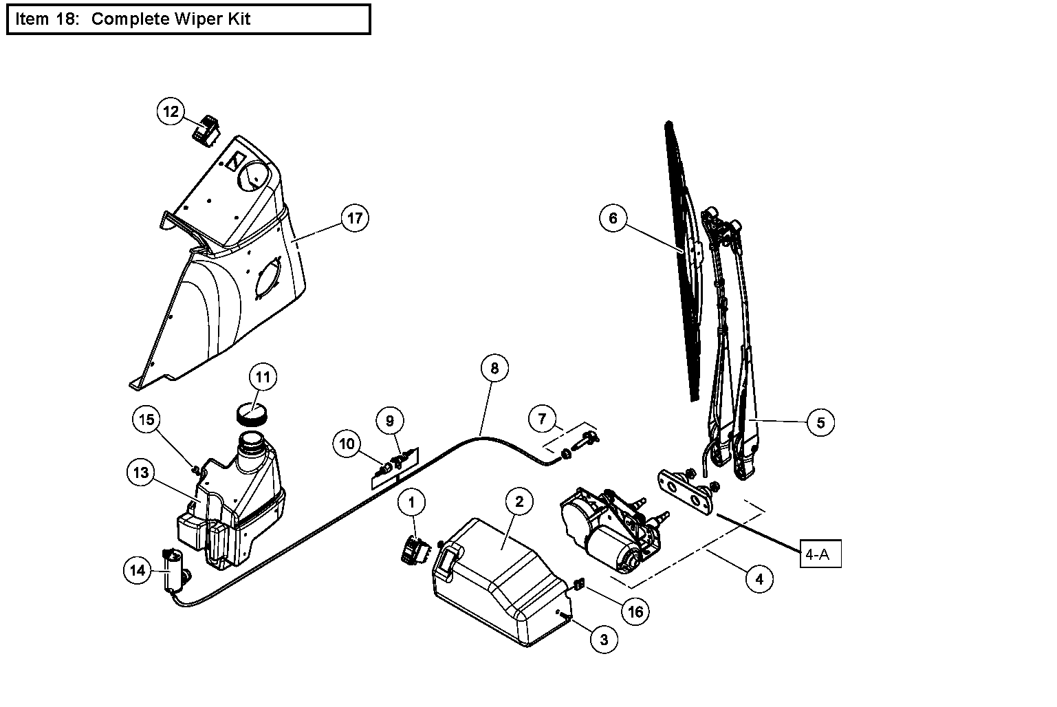 Diagram 7-5A Wiper Assembly