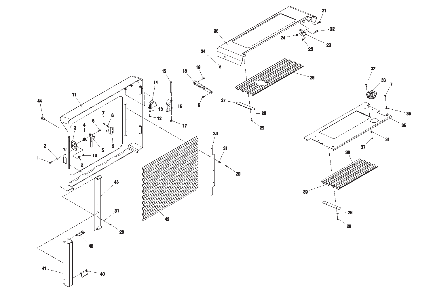 Diagram 6-2A Hood Assembly