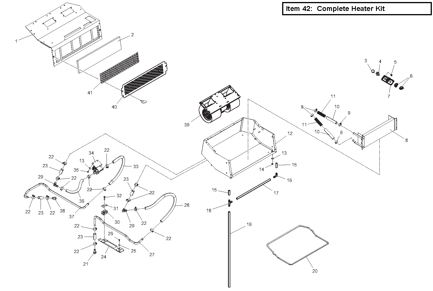 Diagram 7-6A Heater (optional)