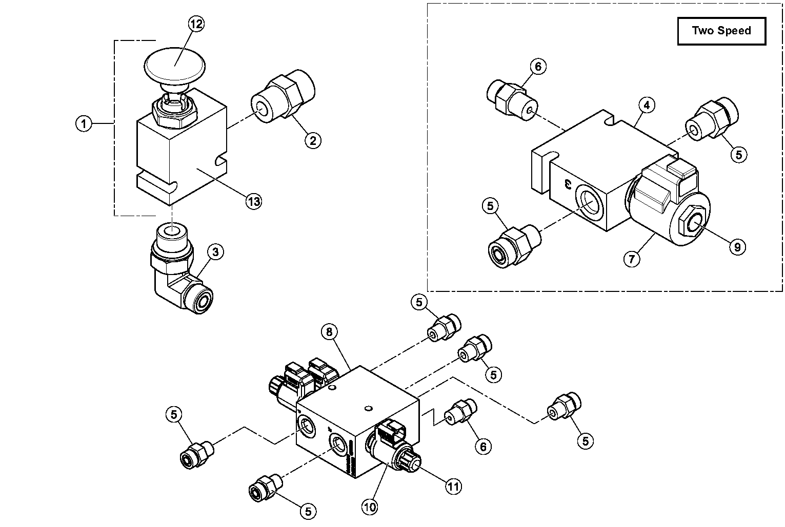 Diagram 17-A Solenoid Blocks