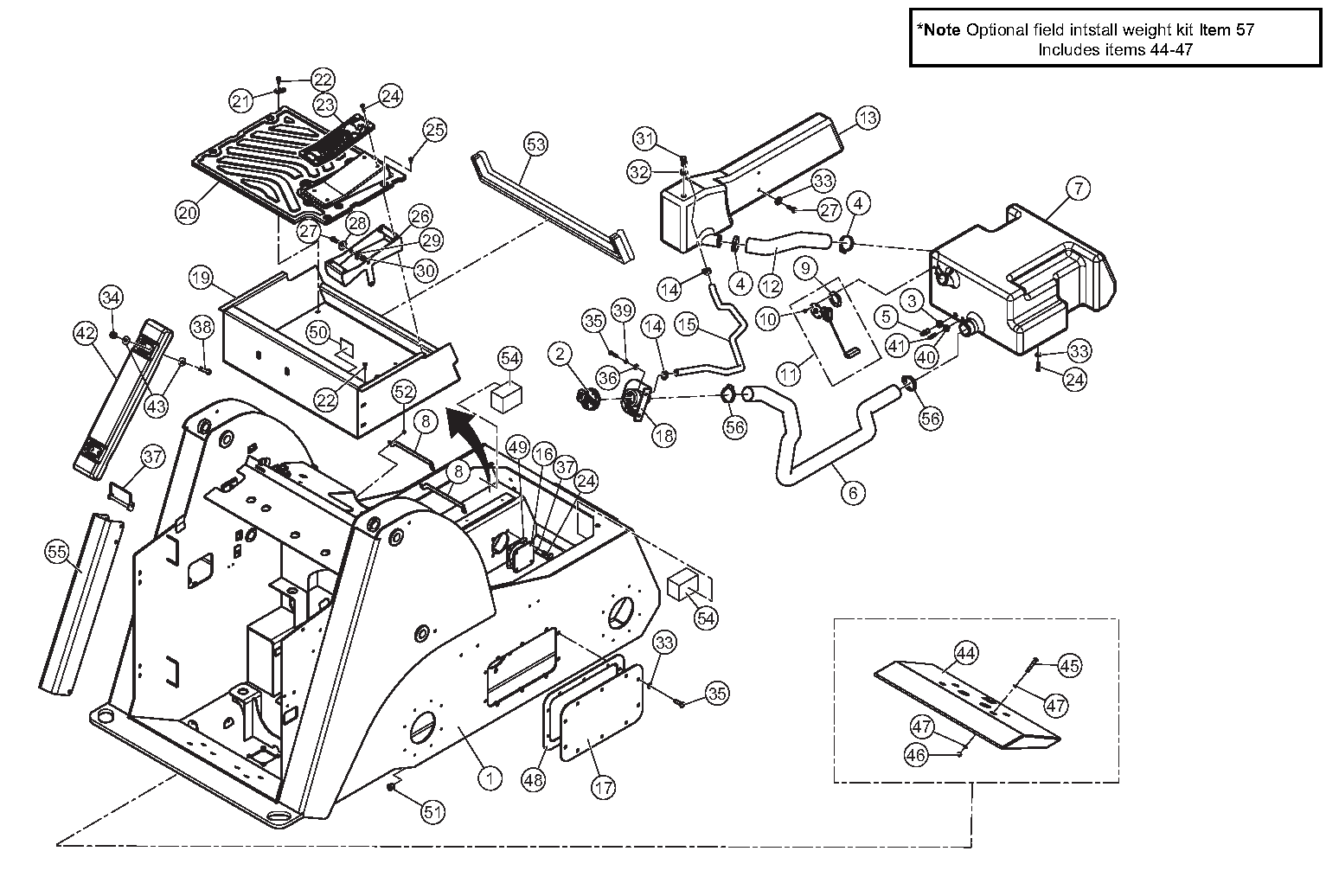 Diagram 09-A Chassis Assembly