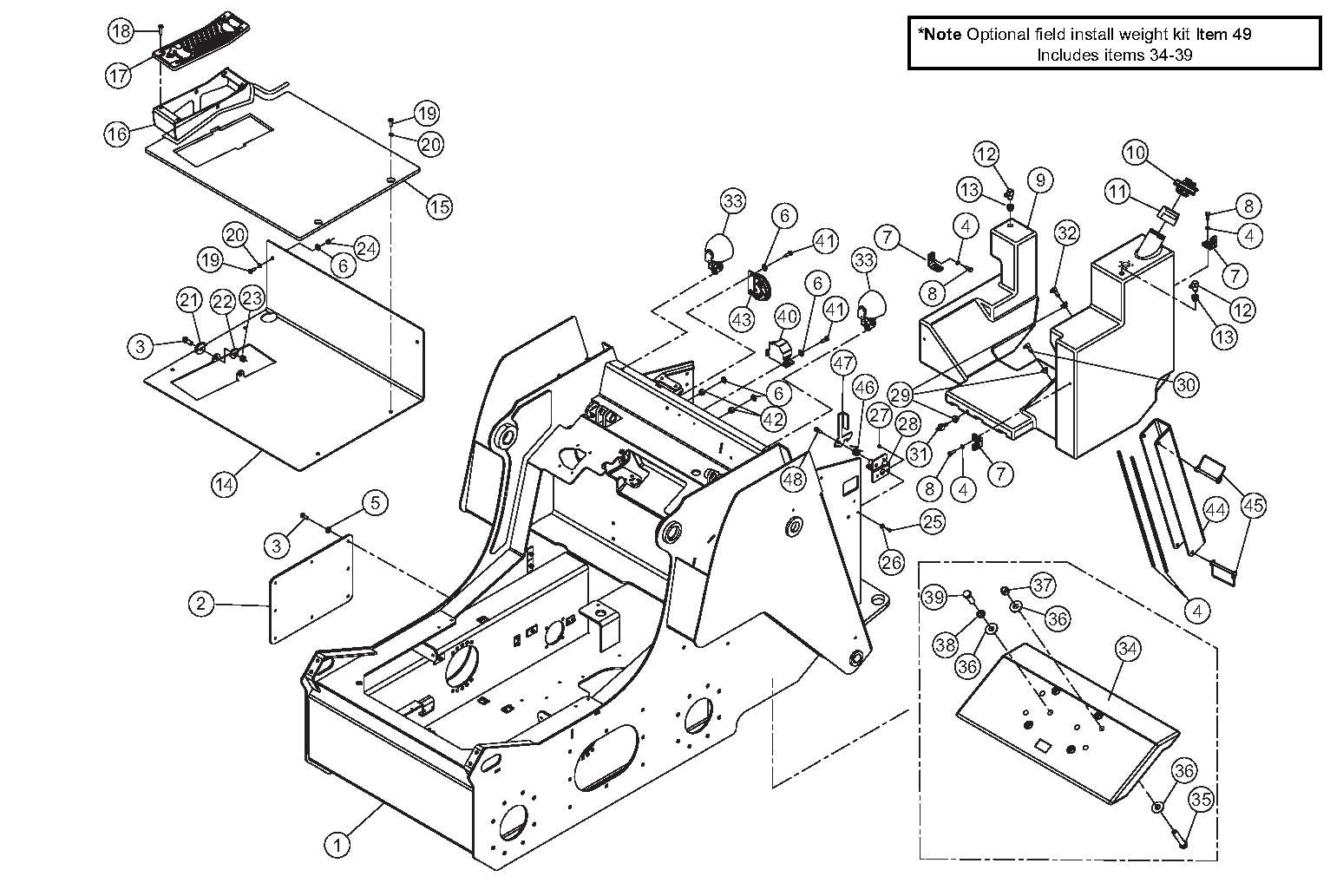 Diagram 09-B Chassis Assembly