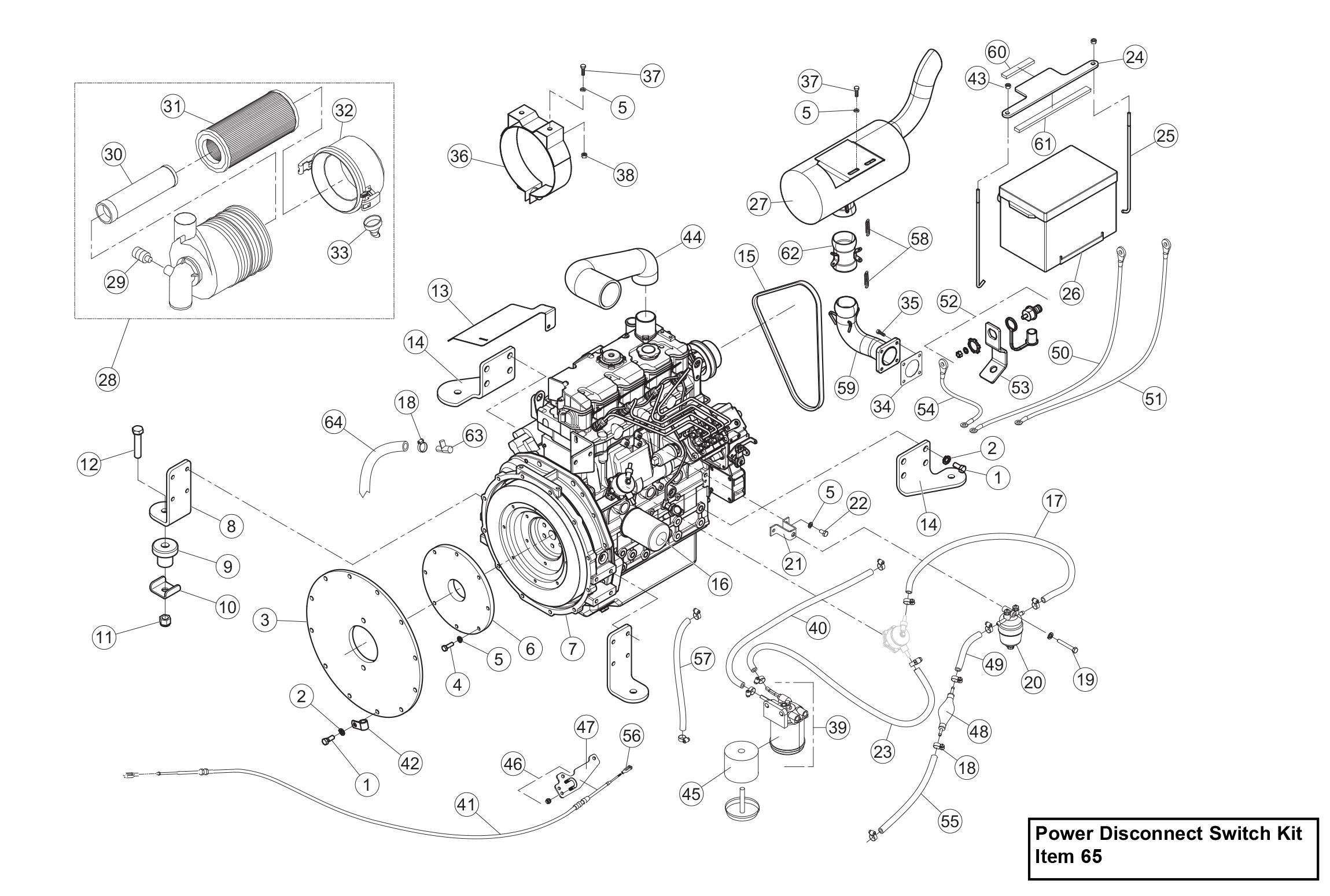 Diagram 18-A Engine Assembly