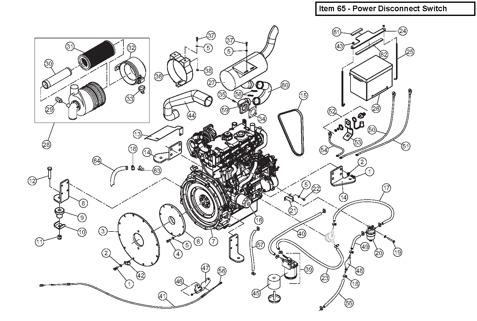 Diagram 19-A Engine Assembly