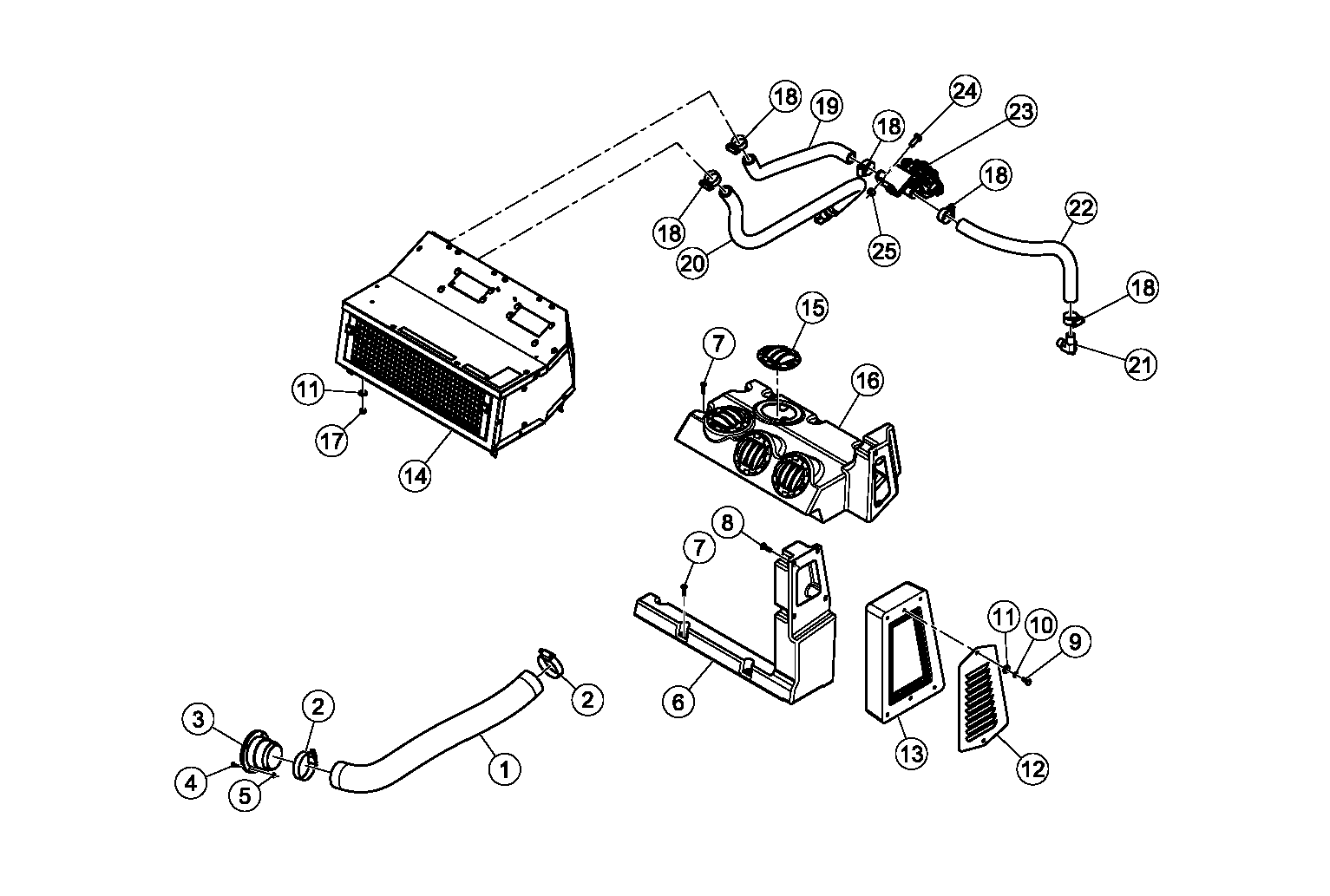 Diagram 28-A Cab Heater - Optional