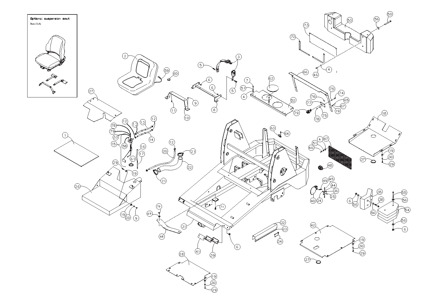 Diagram 4-A Chassis Assembly