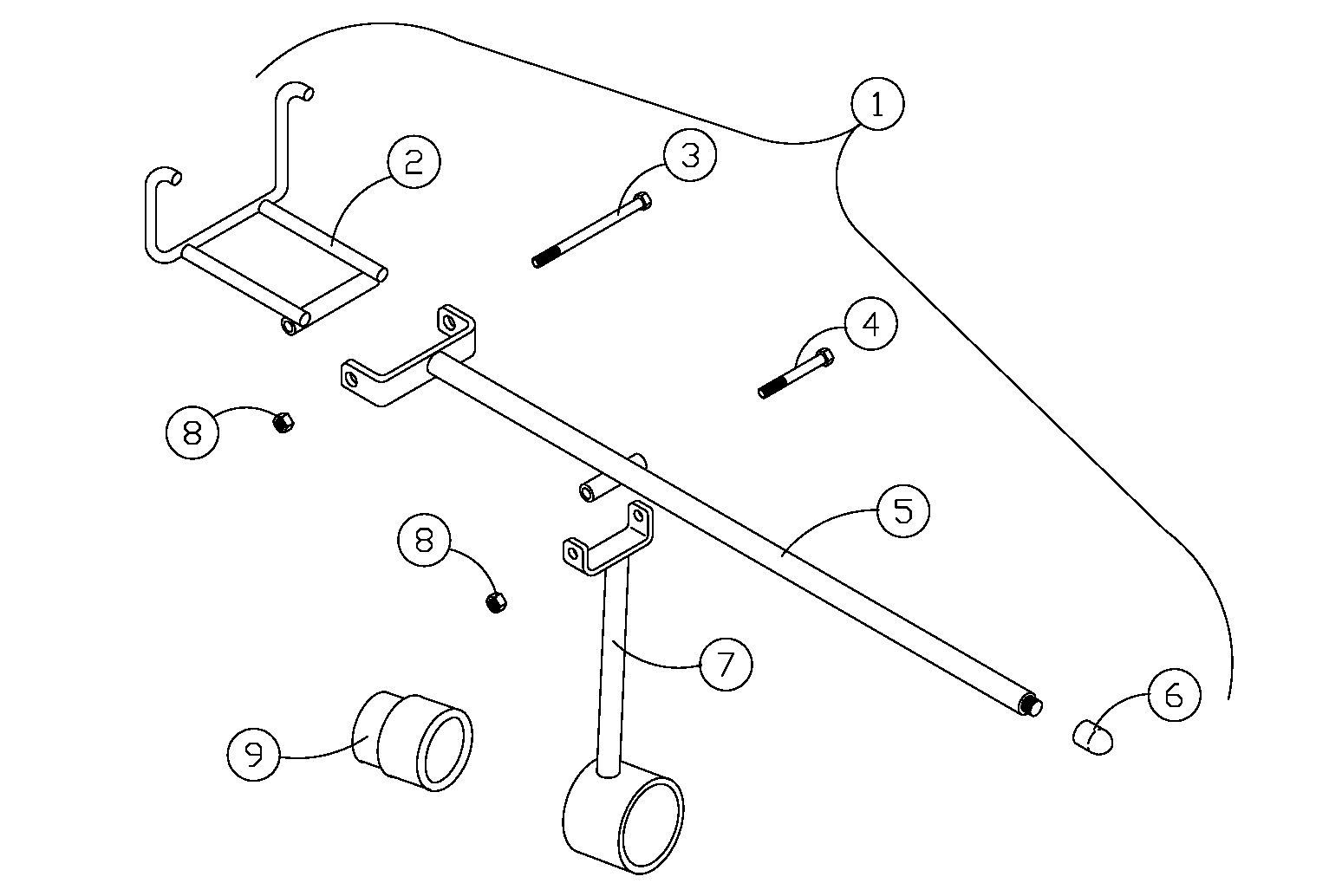 Diagram 21-A Track Installation Tool