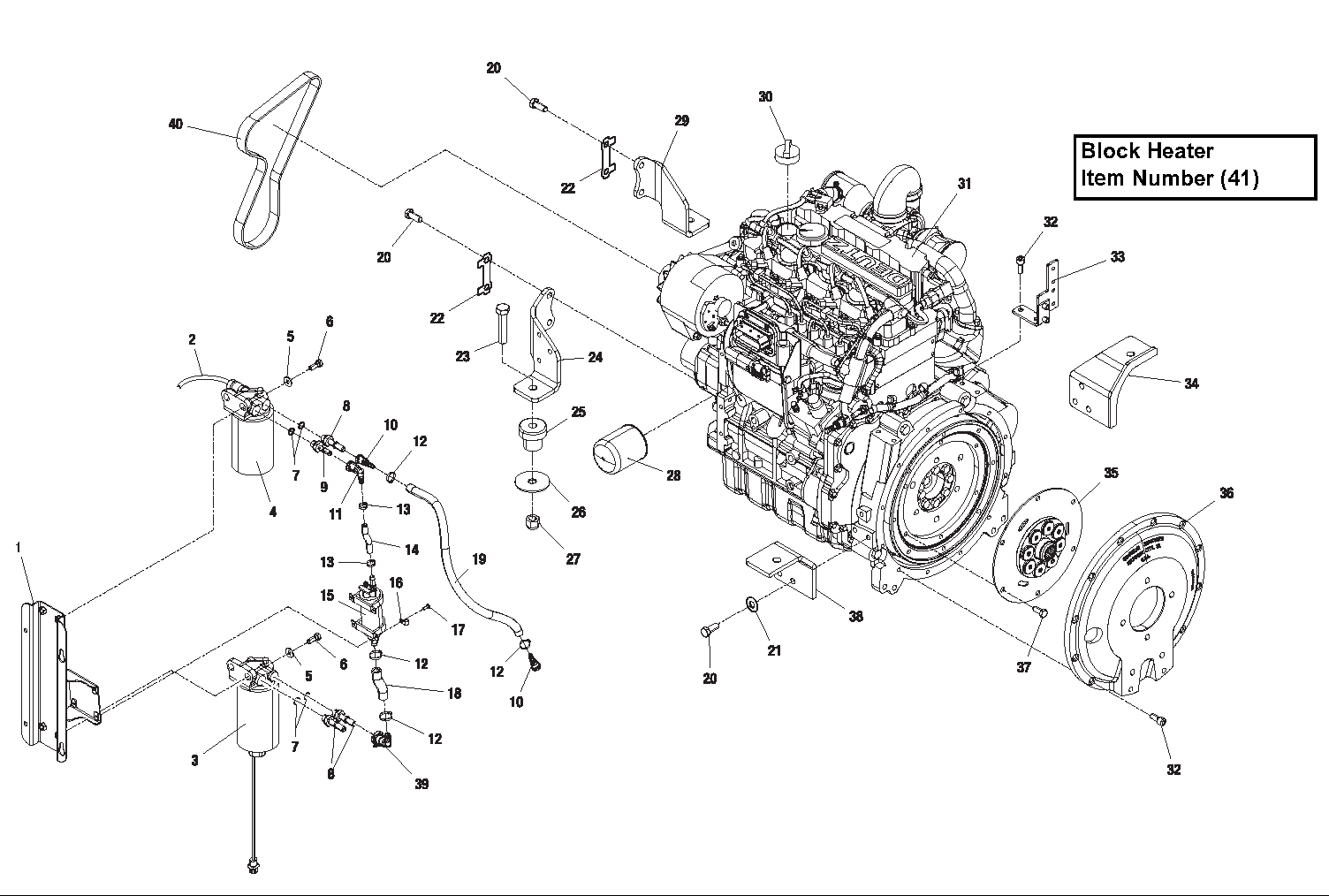 Diagram 2-2A Diesel Engine