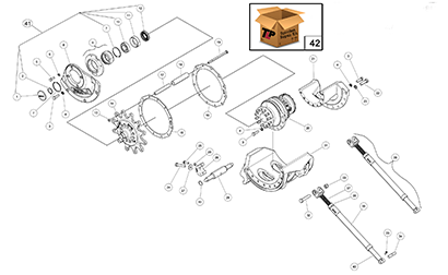 Diagram 19-A Drive Table Assembly - Right Hand