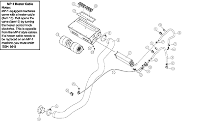 Diagram 26-A Cab Heater Assembly - Optional