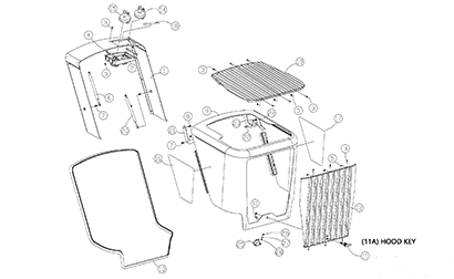 Diagram 06-A Hood Assembly