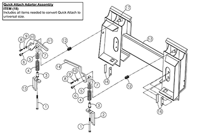 Diagram 8-2A Quick Attach Adapter