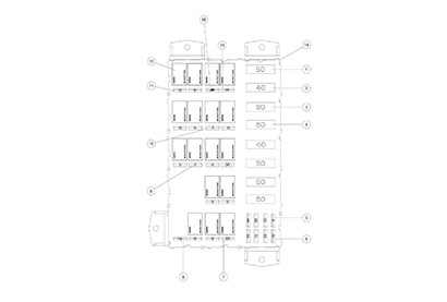 Diagram 4-2A Electrical - Fuse Panel