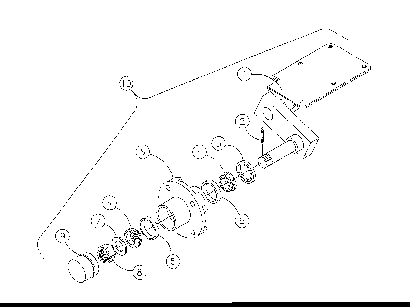Diagram 22-A Spindle - Left Side