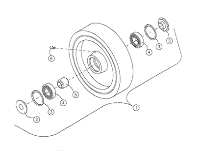 Diagram 25-A Wheel Suspension