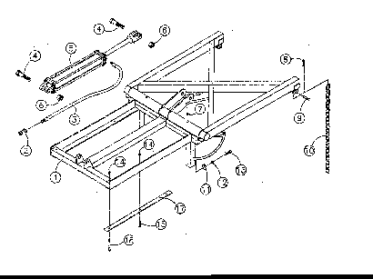 Diagram 27-A Groomer Lift Frame