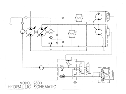 Diagram E1 Hydraulic Schematic