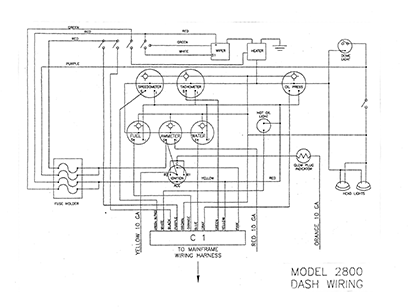 Diagram E2 Dash Wiring