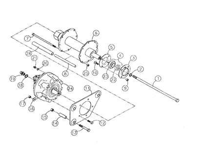 Diagram 15-A Drive Shaft - Right Side