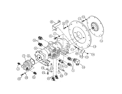 Diagram 18-A Transmission Assembly