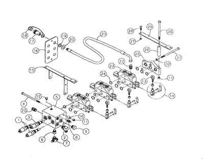 Diagram 20-A Hydraulic Valve Assembly