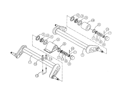 Diagram 26-A Axle and Hub