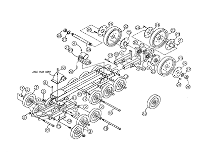 Diagram 29-A Suspension Assembly