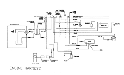 Diagram E6 Engine Harness