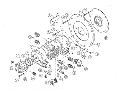 Diagram 17-A Transmission Assembly