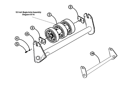 Diagram 05-A Tensioner Assembly