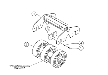 Diagram 06-A Bogie Axle Carriage Assembly