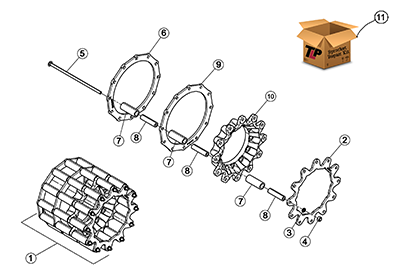 Diagram 04-A Drive Sprocket Assembly