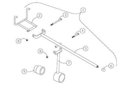 Diagram 5-4A Track Installation Tool
