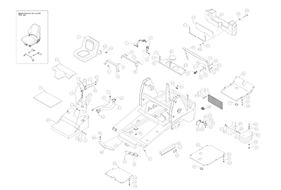 Diagram 6-1A Chassis Assembly