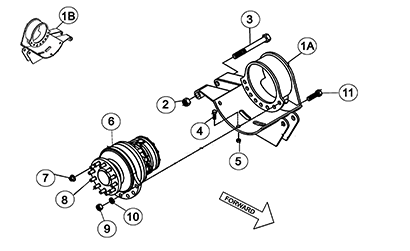Diagram 03-A Drive Table Assembly