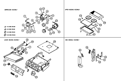 Diagram 7-4A Cab Heat and Air Conditioning Assembly