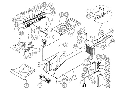 Diagram 02-A Console Assembly