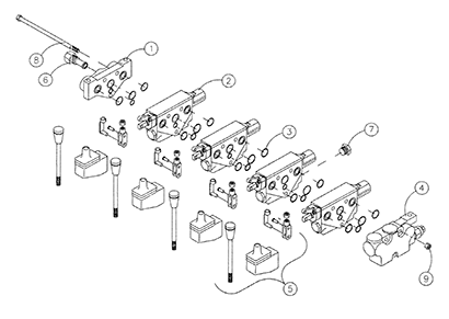 Diagram 12-A Control Valve Assembly