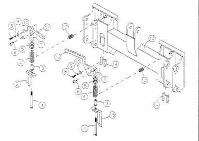 Diagram 27-A Quick-Attach Assembly