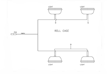 Diagram E8 Roll Cage Wiring