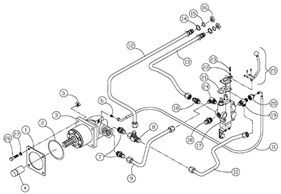 Diagram 09-A Hydraulics - PTO and Auxiliary Valve