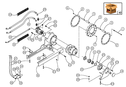 Diagram 21-A Drive Assembly - Right Hand
