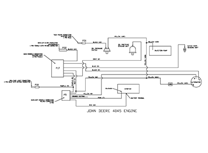 Diagram E4 Electrical Schematic - Engine