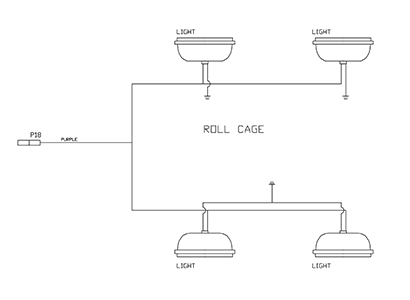 Diagram E6 Electrical Schematic - Roll Cage