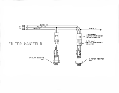 Diagram E3 Filter Manifold Wiring