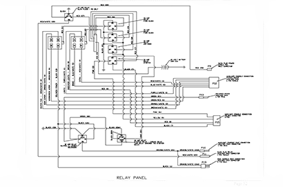Diagram E6 Relay Panel Wiring