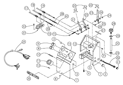 Diagram 06-A Main Console Assembly