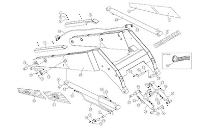 Diagram 25-A Lift Arm Assembly