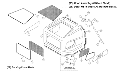 Diagram 05-A Hood Assembly
